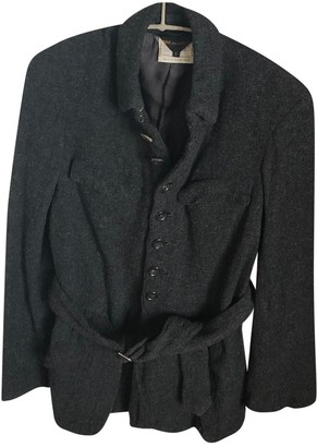 Comme des Garcons Anthracite Wool Jackets