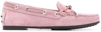 Tod's round-toe driving loafers