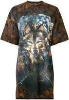 Balmain wolf print T-shirt