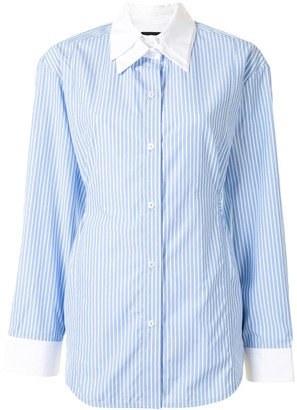 Eudon Choi Seli double-collar shirt