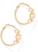 New York & Co. Eva Mendes Collection - Beaded Hoop Earring
