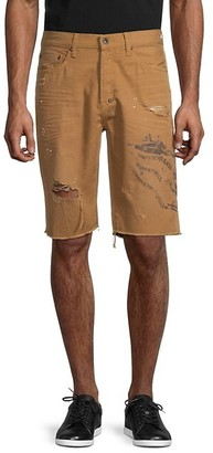 PRPS Egg Harbor Distressed Shorts