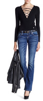 Miss Me Sequin Detail Bootcut Jean