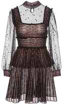 Alexander McQueen Silk And Wool-blend Lace Dress