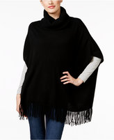 Charter Club Cashmere Fringe Poncho, Only at Macy's