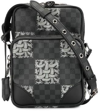 Louis Vuitton x Christopher Nemeth 2015 Damier Graphite Amazon shoulder bag