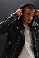 Mackage Magnus Hooded Leather Jacket