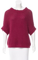Elizabeth and James Open Knit Sweater