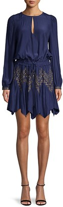 Ramy Brook Embellished Mini Dress