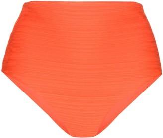 Mara Hoffman Lydia high-waisted bikini bottoms
