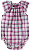 Osh Kosh Baby Girl Flutter Sleeve Bodysuit