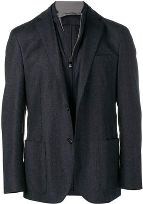 Corneliani built-in gilet blazer