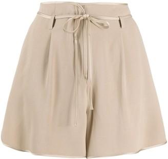 Moncler Belted Shorts