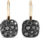 Pomellato Nudo 18-karat Rose Gold Diamond Earrings