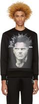 Neil Barrett Black Basquiat Pullover