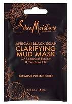 Shea Moisture African black soap clarifying mud mask by for unisex mask, 0.5 Ounce