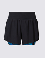 M&S Collection Printed Sports Shorts