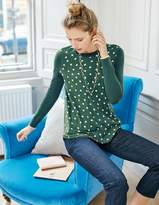 Boden Vivian Woven Mix Sweater