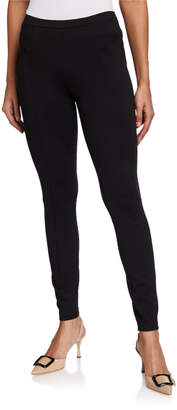 T Tahari Seamed Ponte Leggings