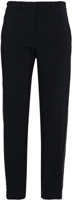 Piazza Sempione Wool-blend Crepe Straight-leg Pants