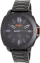 HUGO BOSS BOSS Orange Men's 1513241 SAO PAULO Black Stainless Steel Bracelet Watch