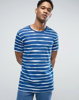 United Colors Of Benetton T-shirt With Painted Stripe