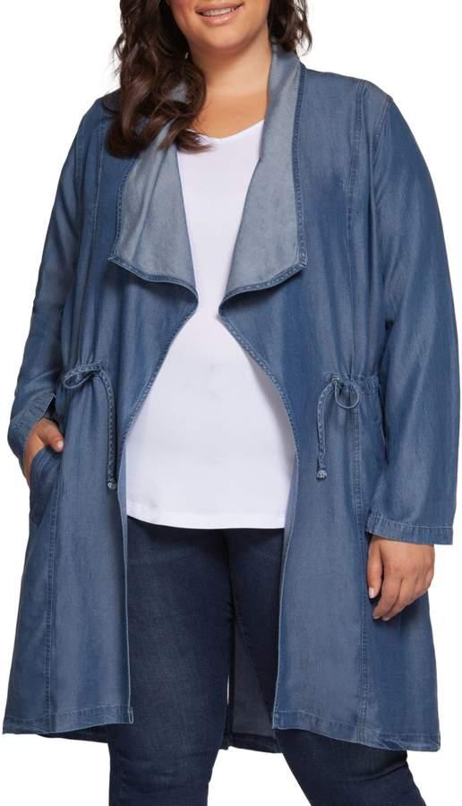 Dex Plus Long Sleeve Drawstring Jacket