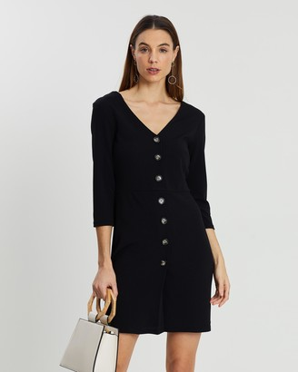 Dorothy Perkins Horn Button Through Dress