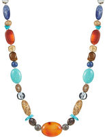 Lord & Taylor Multi-Stone Collar Necklace