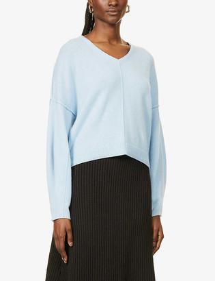 Vk Cashmere Shalimar V-neck cashmere jumper