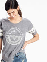 Lucky Brand Smokey The Bear Football Tee