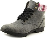 Groove Jackson Round Toe Synthetic Ankle Boot.