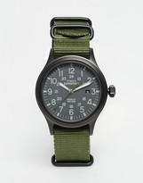Timex Expeditionscout Watch In Green Tw4b04700