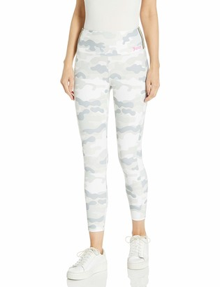 Juicy Couture Women's High Waisted Side Stripe 7/8 Legging