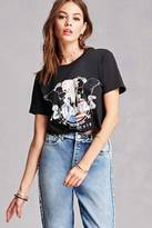 Forever 21 FOREVER 21+ Cropped Chicago Graphic Tee
