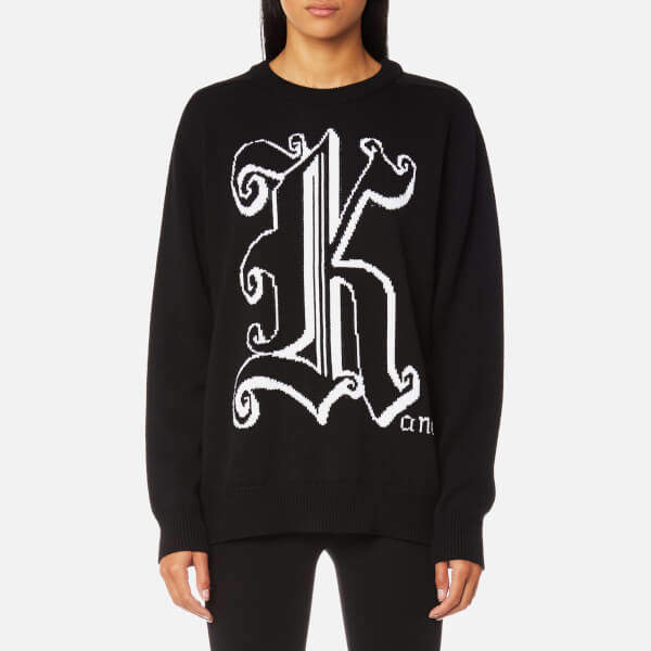 Christopher Kane Women's Kane Crew Neck Jumper Black