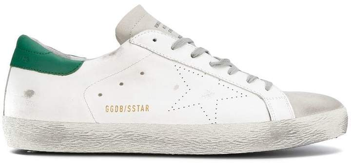 Golden Goose Superstar low top trainers
