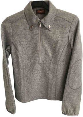 Tod's Grey Cashmere Knitwear for Women