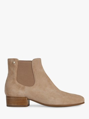 Geox Women's Peython Suede Ankle Boots, Flesh