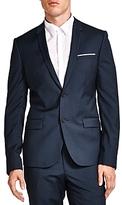 The Kooples Clean Crisp Wool Slim Fit Sport Coat