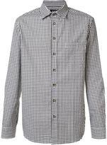 Raf Simons checked button down shirt