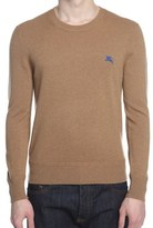 Burberry Men's Beige Cashmere Sweater.