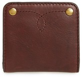 Frye Women's Small Campus Rivet Leather Wallet - Brown