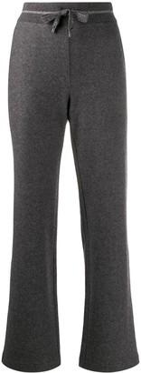 Lorena Antoniazzi Knitted Track Pants