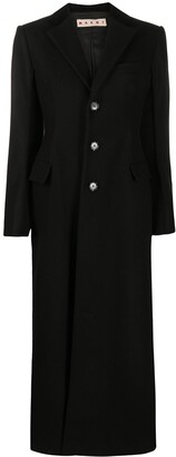 Marni Single-Breasted Wool Coat
