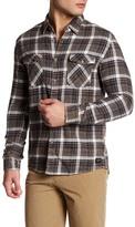 Quiksilver Long Sleeve Plaid Modern Fit Shirt