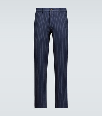 Polo Ralph Lauren Pinstriped slim-fit pants