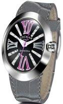 Locman Women's Quartz Watch Donna 041000BKDFFXPSA-F-K with Leather Strap