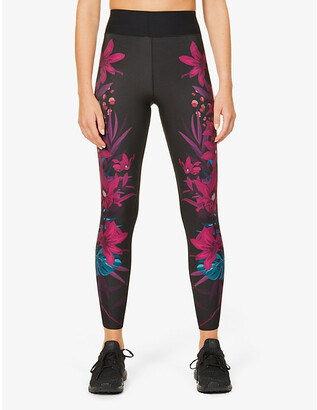 ULTRACOR Bouquet high-rise stretch-jersey leggings