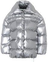 Off-White Metallic down jacket